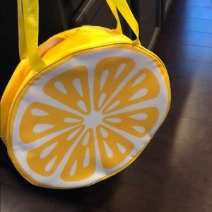 Lemons Beach bag/cooler